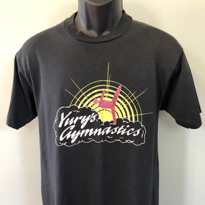 80s Yury's Gymnastics Shirt Albany New York
